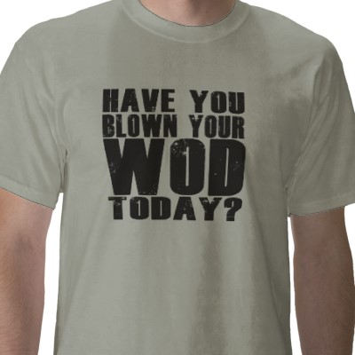 Funny t shirt for CrossFit